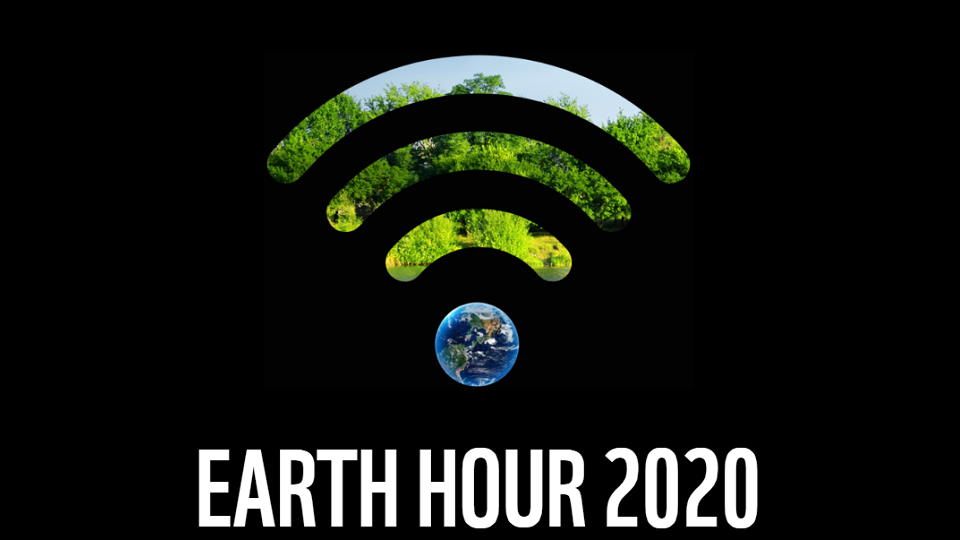 Bild på Earth Hour 2020